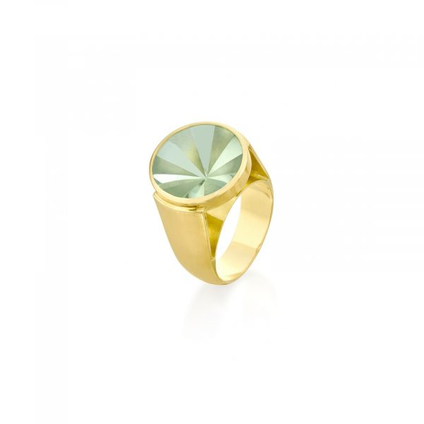 Kaleidoscope Praziolite Ring by Rose Carvalho