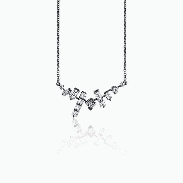 Cosmic Cluster Necklace by Tomasz Donocik
