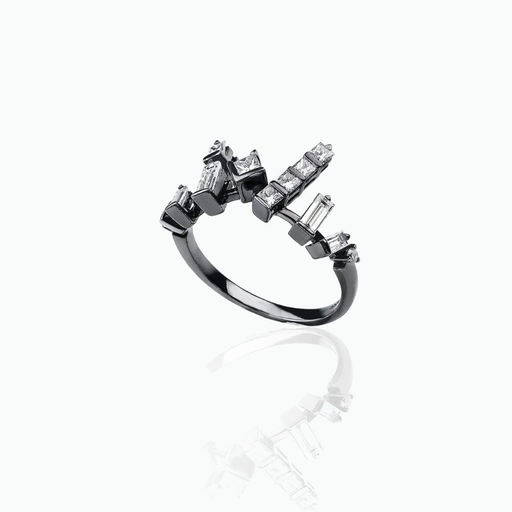 Cosmic Stacking Ring by Tomasz Donocik