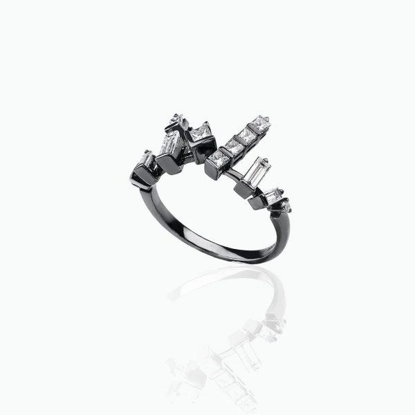Cosmic Stacking Ring by Tomasz Donocik
