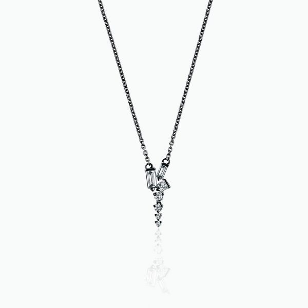 Cosmic Short Drop Necklace by Tomasz Donocik