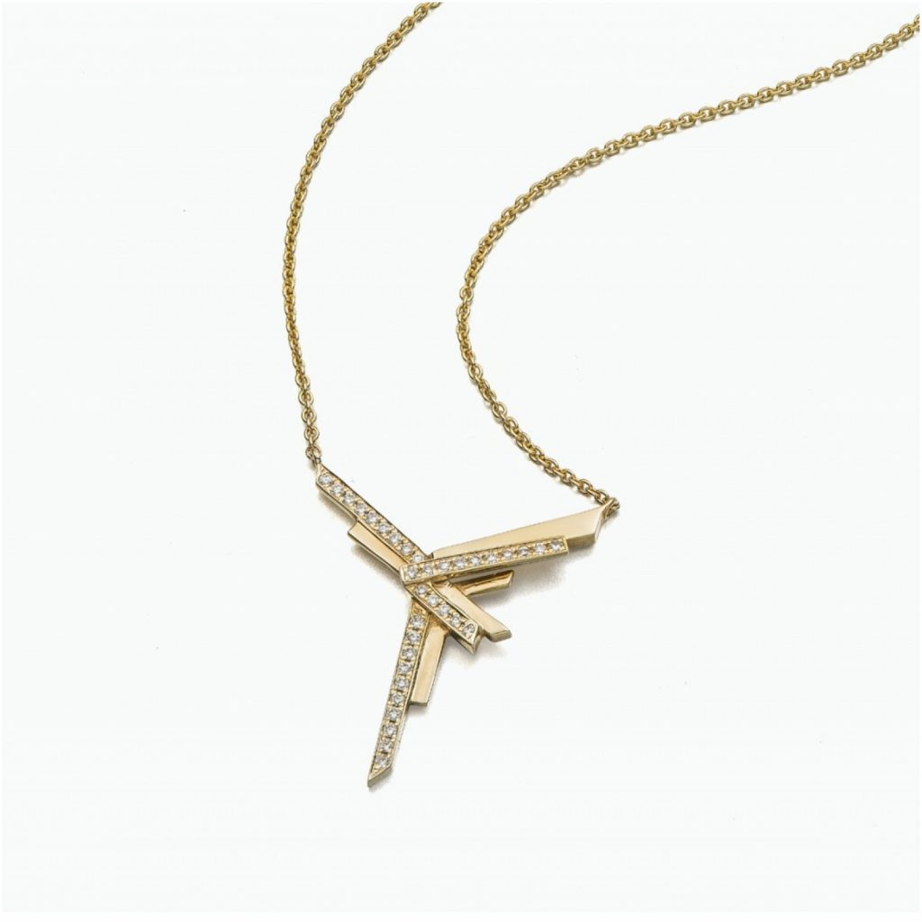 Mini Stellar Y Necklace by Tomasz Donocik
