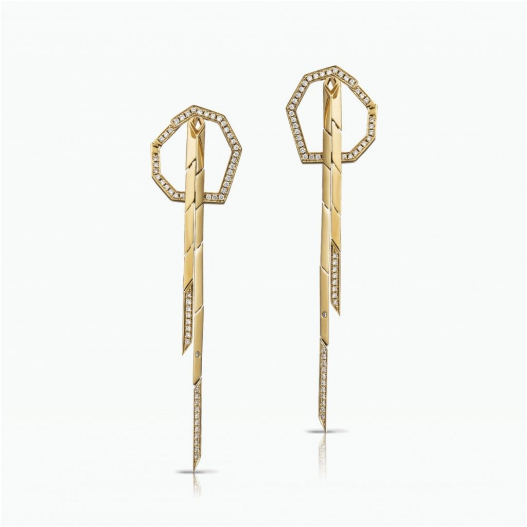 Mini Stellar Drop Earrings by Tomasz Donocik