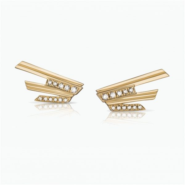 Mini Stellar Stud Earrings by Tomasz Donocik