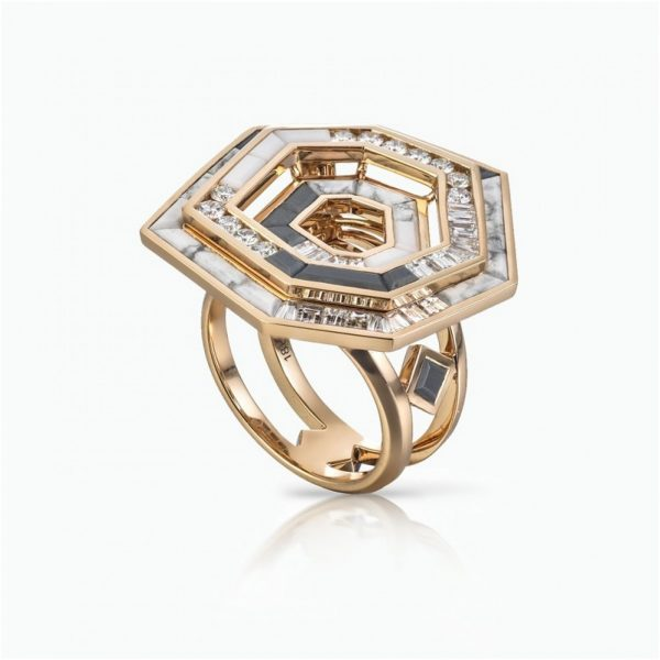 Stellar Dusk Halo Ring by Tomasz Donocik