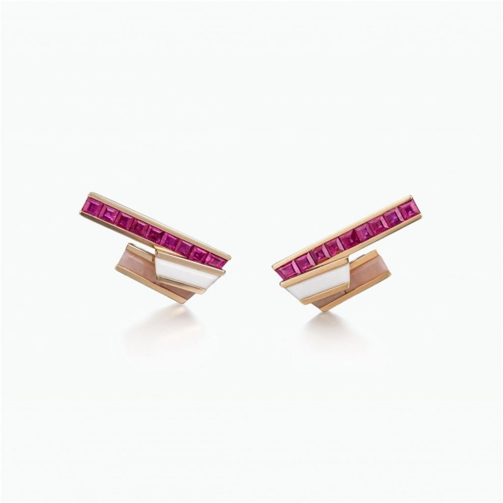 Stellar Stud Earrings by Tomasz Donocik