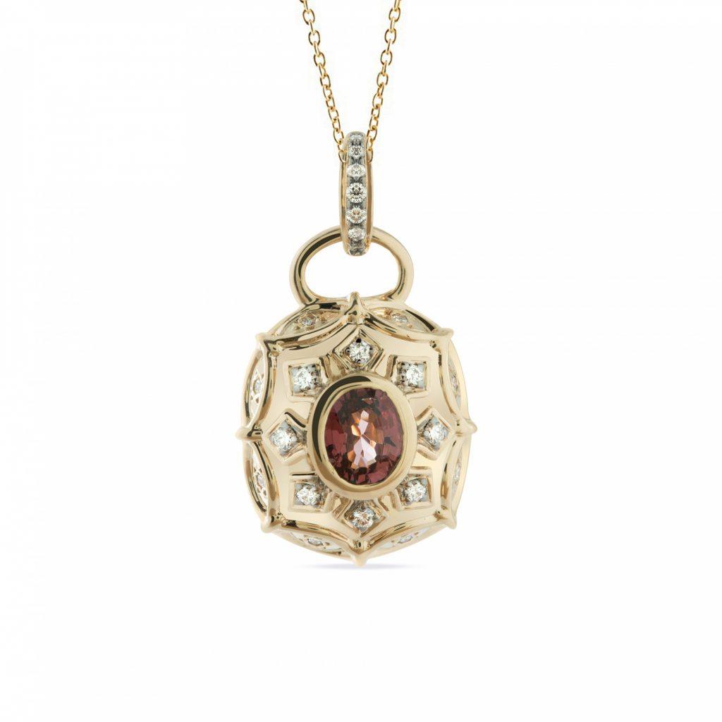 Aura Pendant Necklace by Zaabel