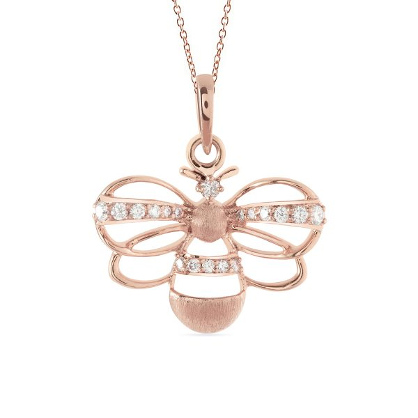 Bee Necklace by Zaabel