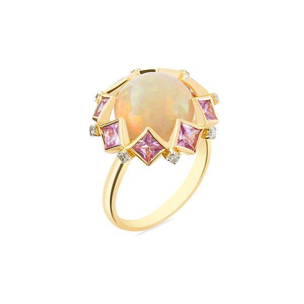 Fire Opal Ring by Zaabel