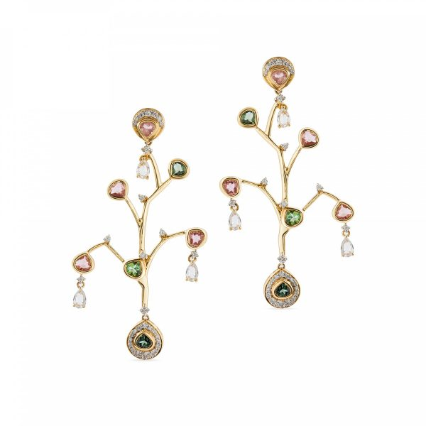 Tree Of Life Earrings by Zaabel