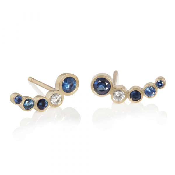 Jupiter Stud Ear Climbers by Ellie Air