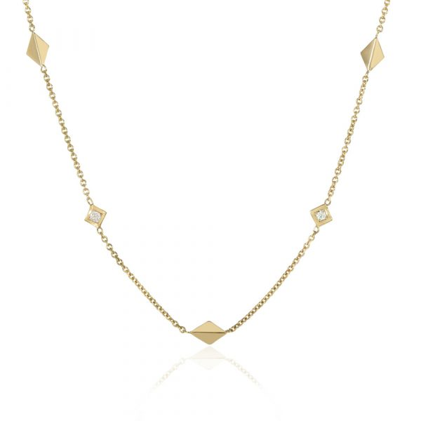 Palm Chain Necklace by Ellie Air