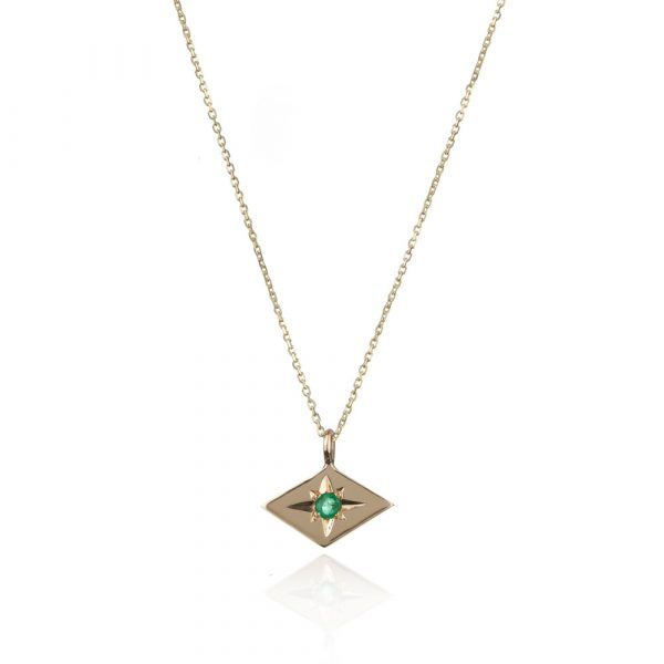 Star Necklace – Emerald by Ellie Air