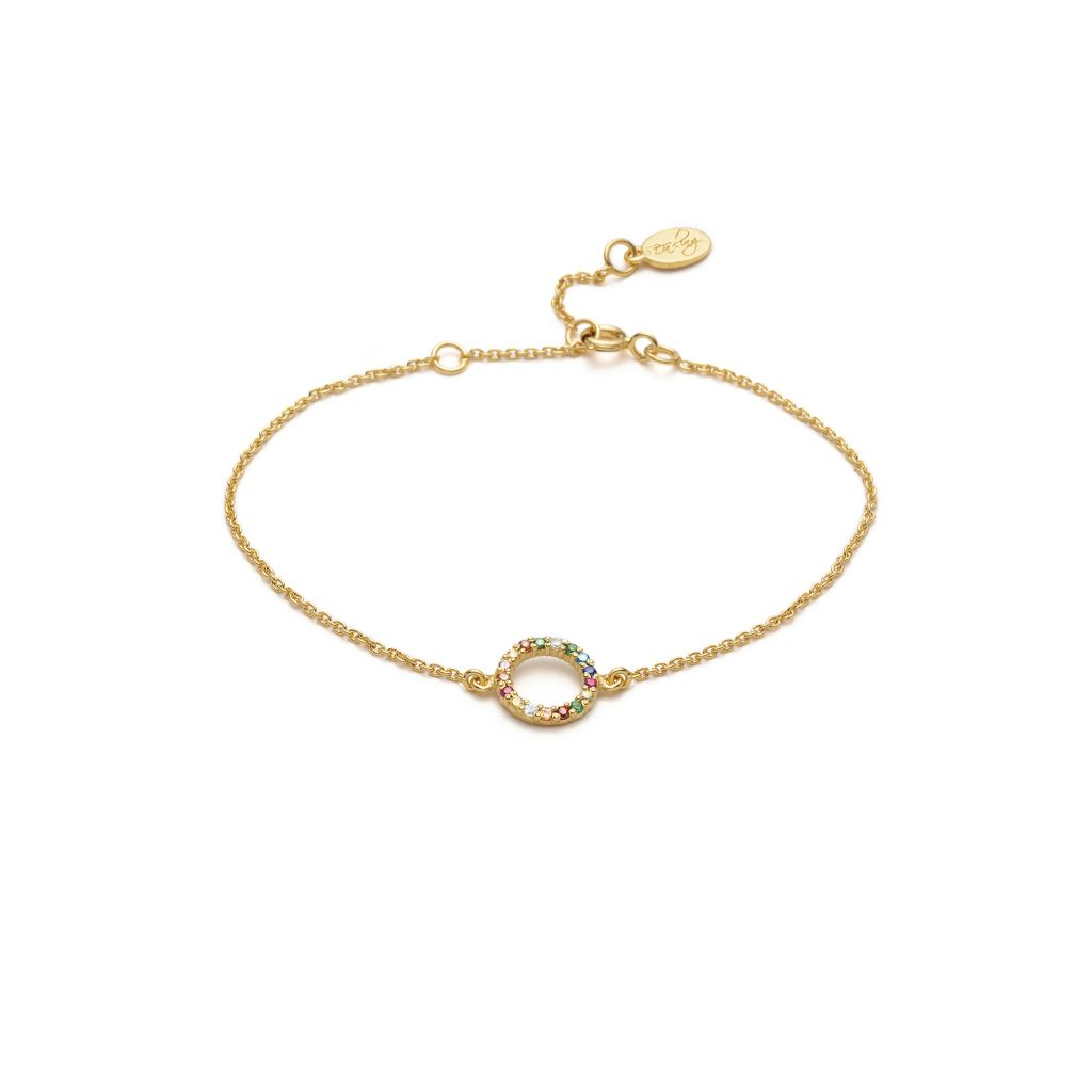 Global Goals #17: Partnership Bracelet by With Love Darling