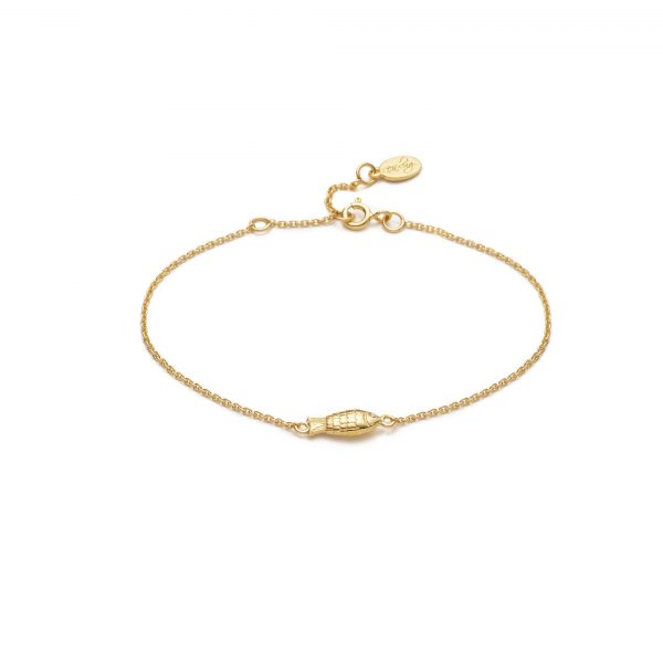 Global Goals #14: Fish Bracelet by With Love Darling