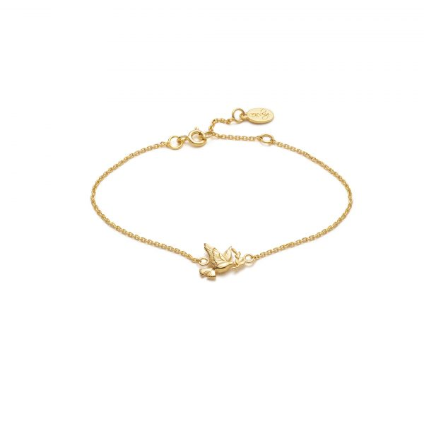 Global Goals #16: Peace Bracelet by With Love Darling