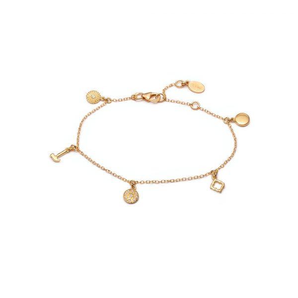 Prosperity Bracelet by With Love Darling