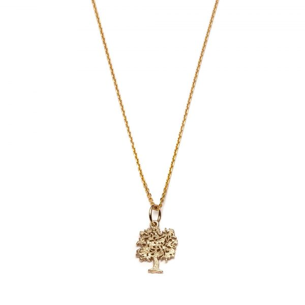 Global Goal #15: Tree of Life Necklace by With Love Darling