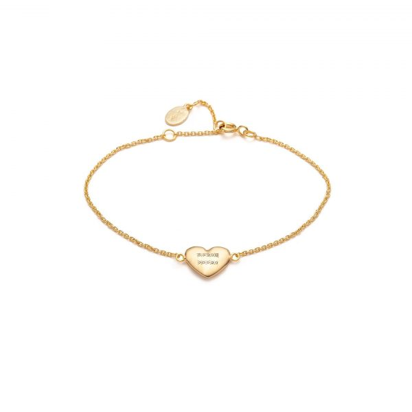 Global Goal #5: Equality Heart Bracelet by With Love Darling
