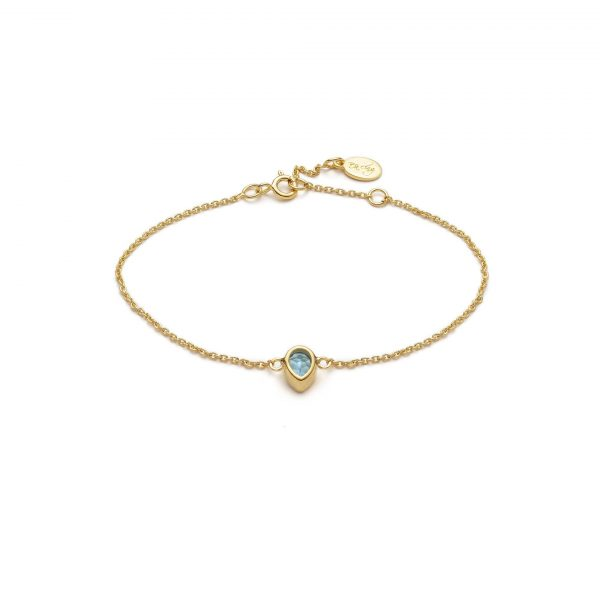 Global Goal #6: Water Drop Bracelet by With Love Darling