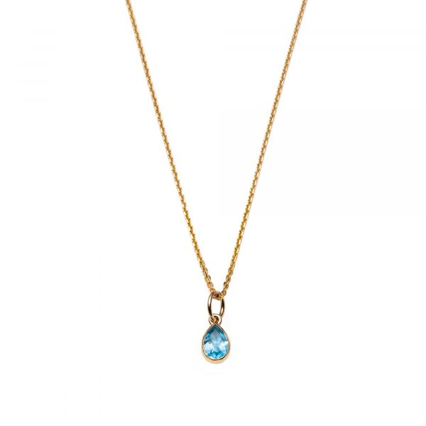 Global Goal #6: Water Drop Necklace by With Love Darling