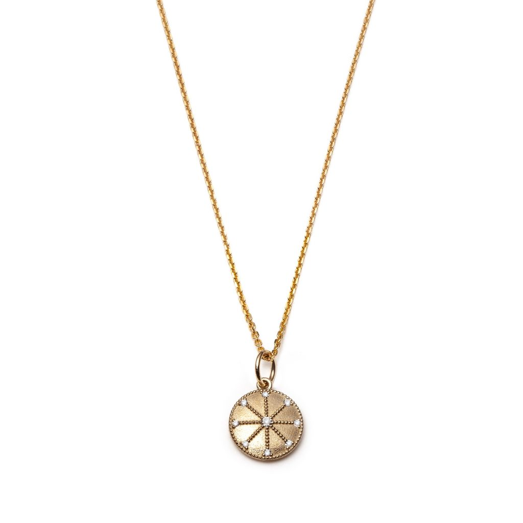 Global Goals #7: Energy Medallion Necklace by With Love Darling