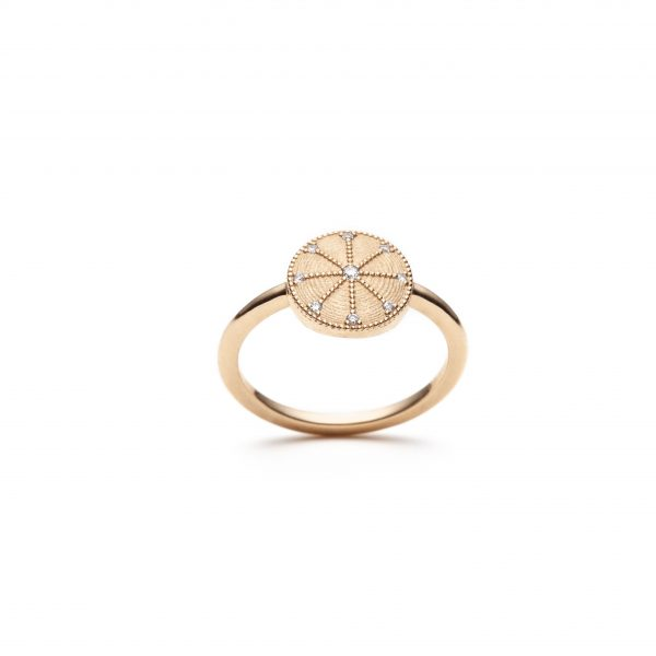 Global Goals #7: Energy Medallion Ring by With Love Darling
