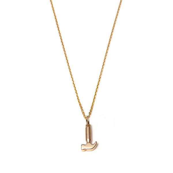 Global Goal #8: Hammer Necklace by With Love Darling