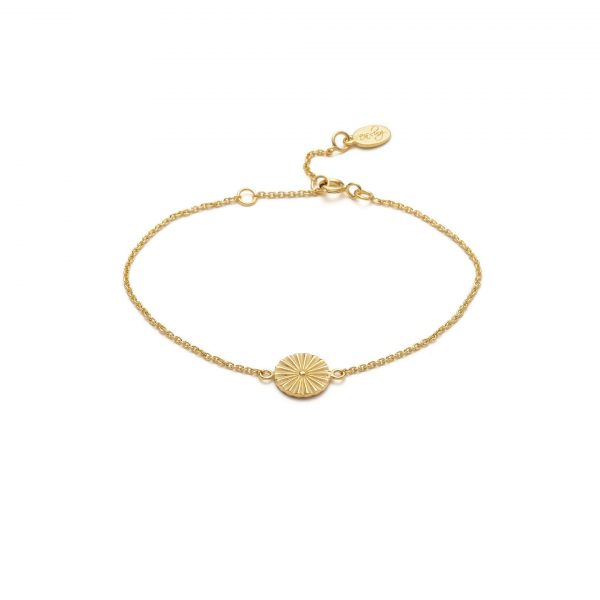 Global Goal #9: Wheel Bracelet by With Love Darling