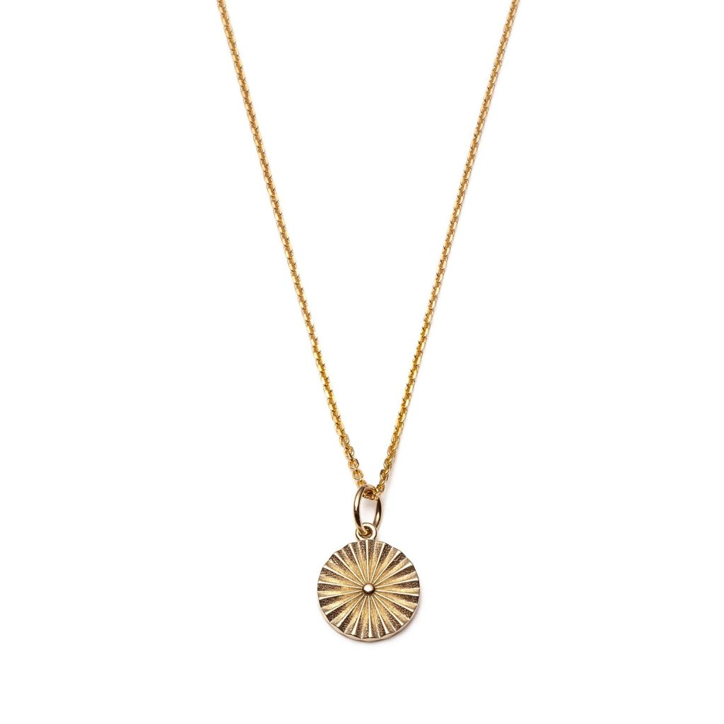 Global Goal #9: Wheel Necklace by With Love Darling