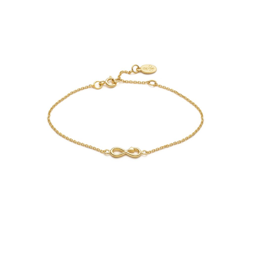 Global Goals #12: Infinity Bracelet by With Love Darling