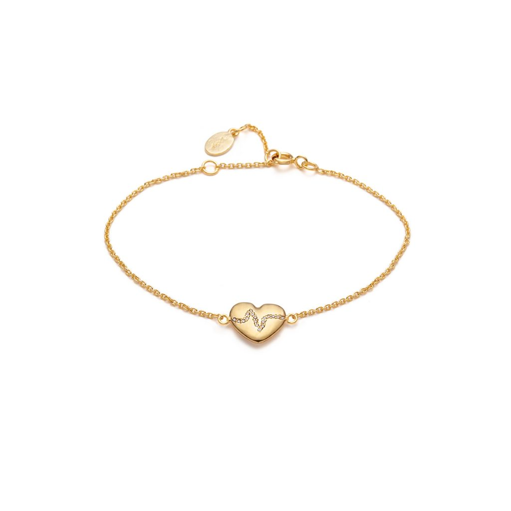 Global Goal #3: Heartbeat Bracelet by With Love Darling