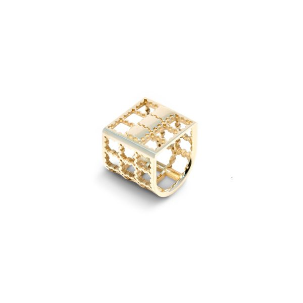 Fishing Cage Ring by Hugo Madureira