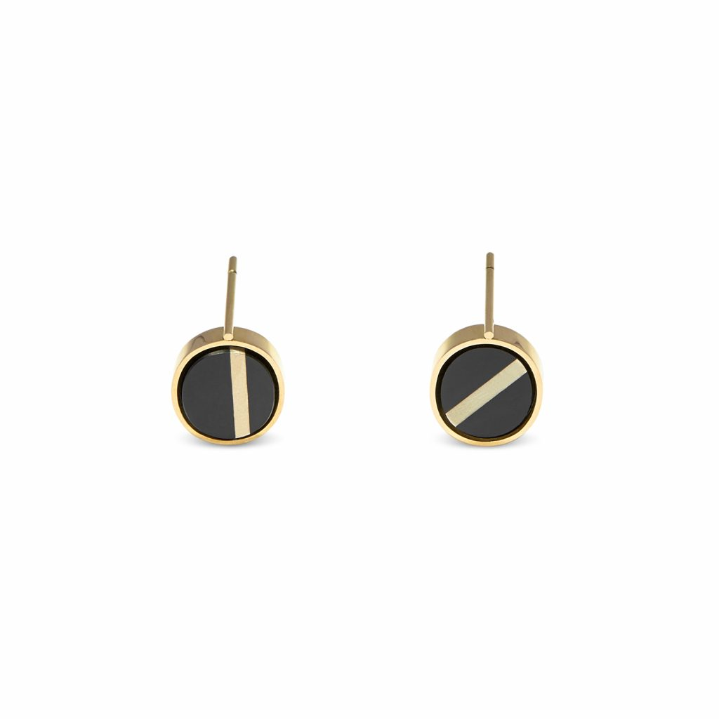 Gyro Horizon Earrings by Hugo Madureira