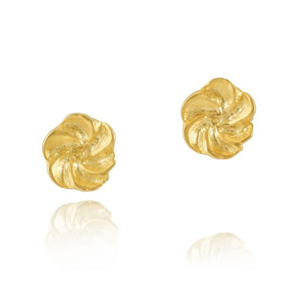 Tiny Flower Studs by Pippa Small