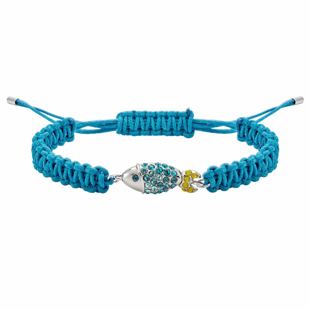 Sea Life Fish Bracelet – Light Sapphire Blue by Atelier Swarovski