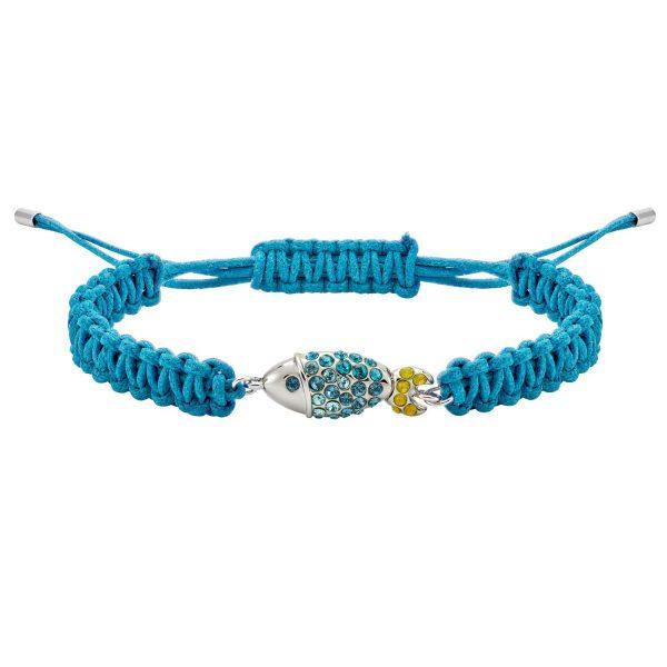 Sea Life Fish Bracelet – Light Sapphire Blue by Atelier Swarovski