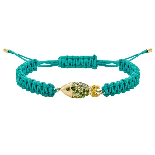 Sea Life Fish Bracelet – Peridot Green by Atelier Swarovski