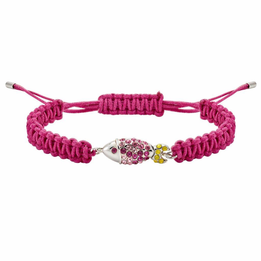 Sea Life Fish Bracelet – Rose Pink by Atelier Swarovski