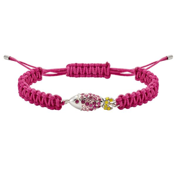 Sea Life Fish Bracelet – Rose Pink by Atelier Swarovski