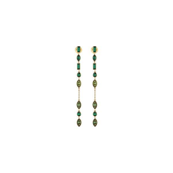 Beautiful Earth Long Jacket Earrings by Atelier Swarovski