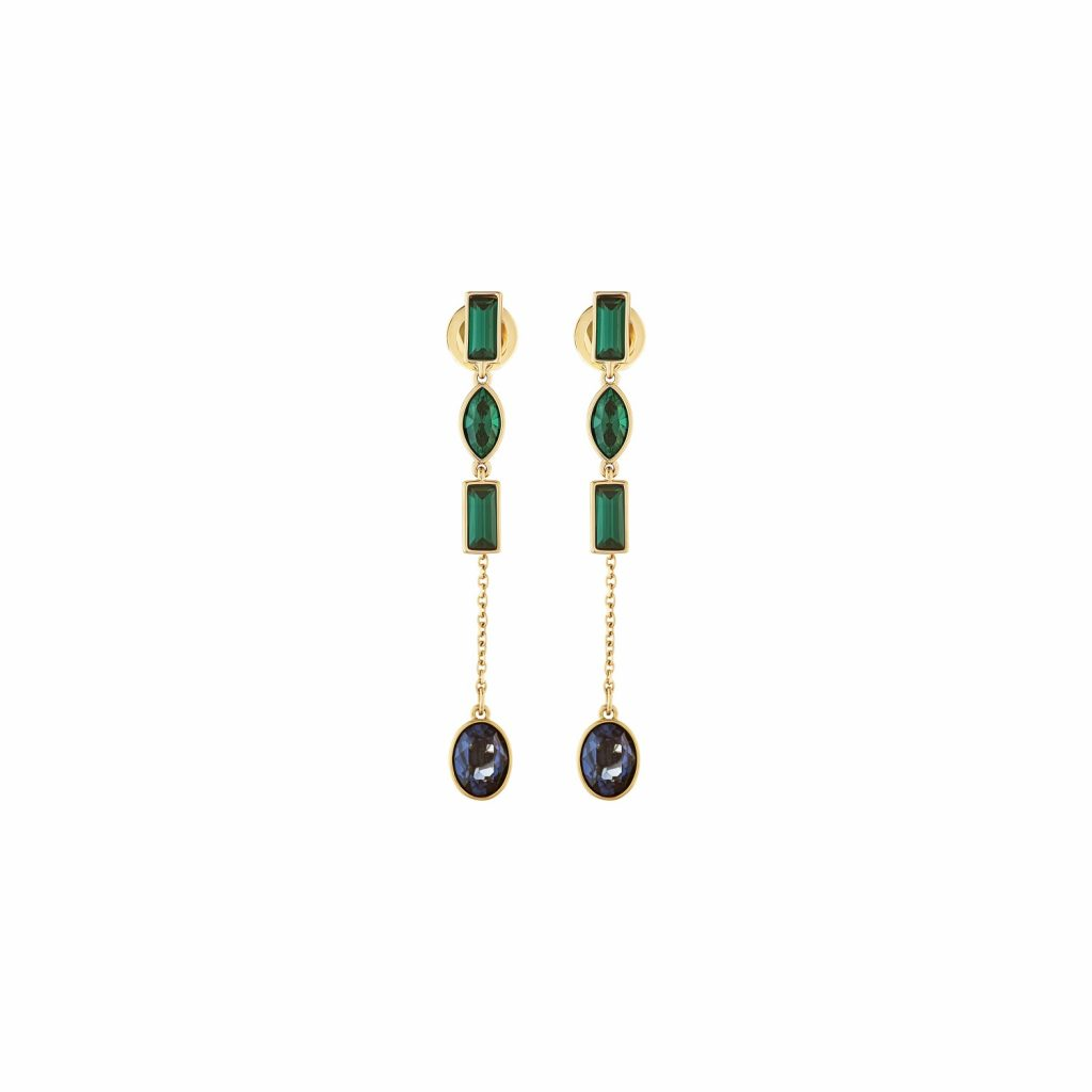 Beautiful Earth Short Jacket Earrings by Atelier Swarovski