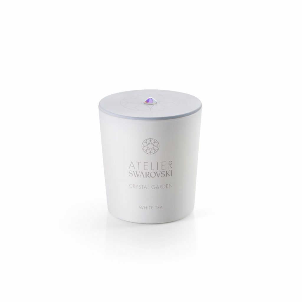 Crystal Garden Candle – White Tea by Atelier Swarovski