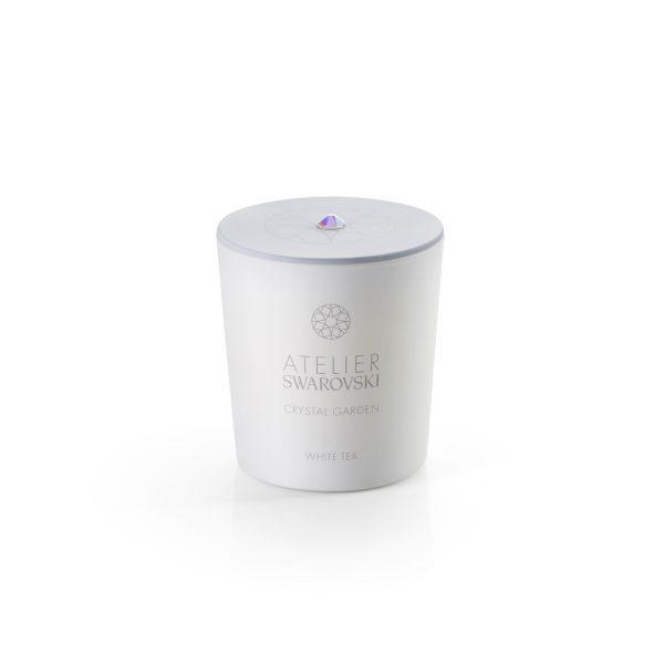 Crystal Garden Candle White Tea by Atelier Swarovski