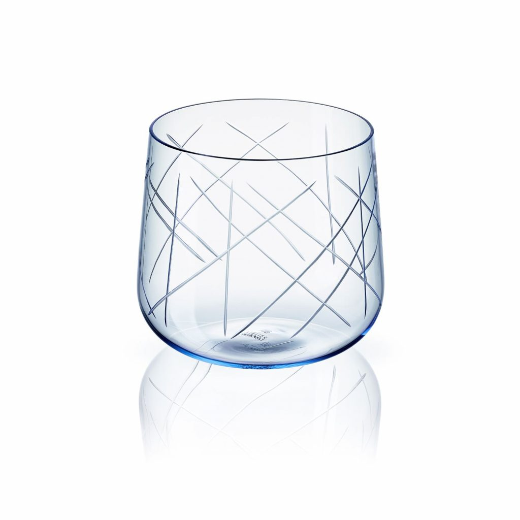 Nest Tumbler Set of Two – Blue by Atelier Swarovski