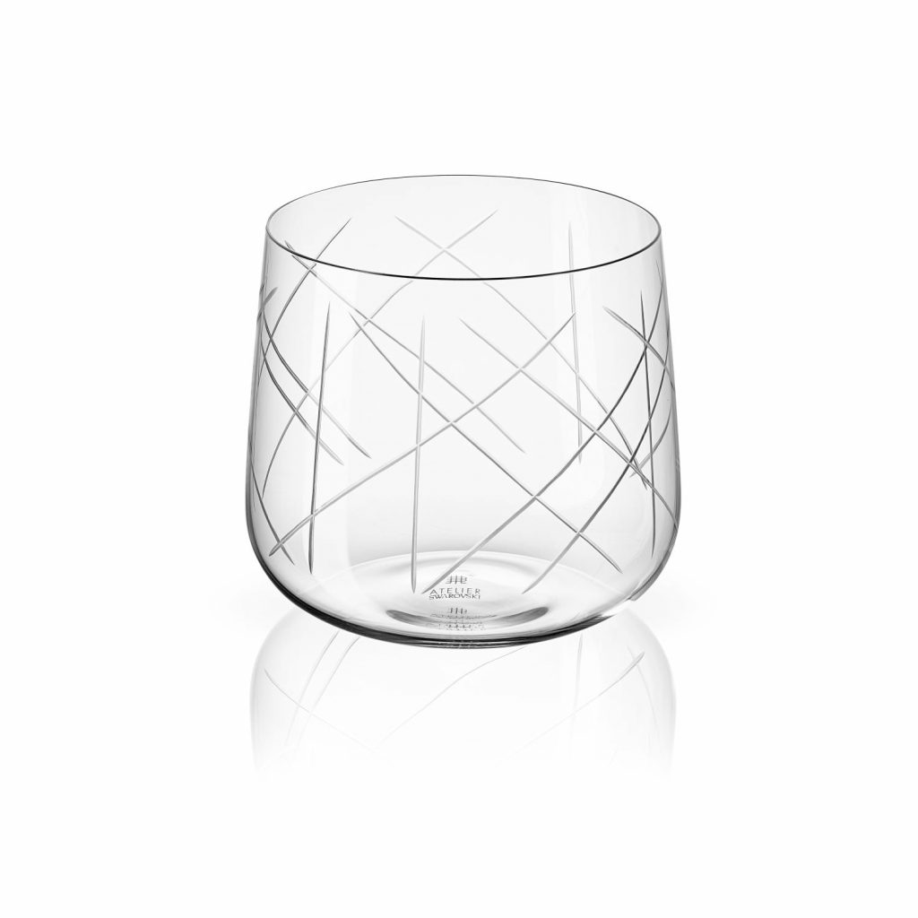 Nest Tumbler Set of Two –  Clear by Atelier Swarovski