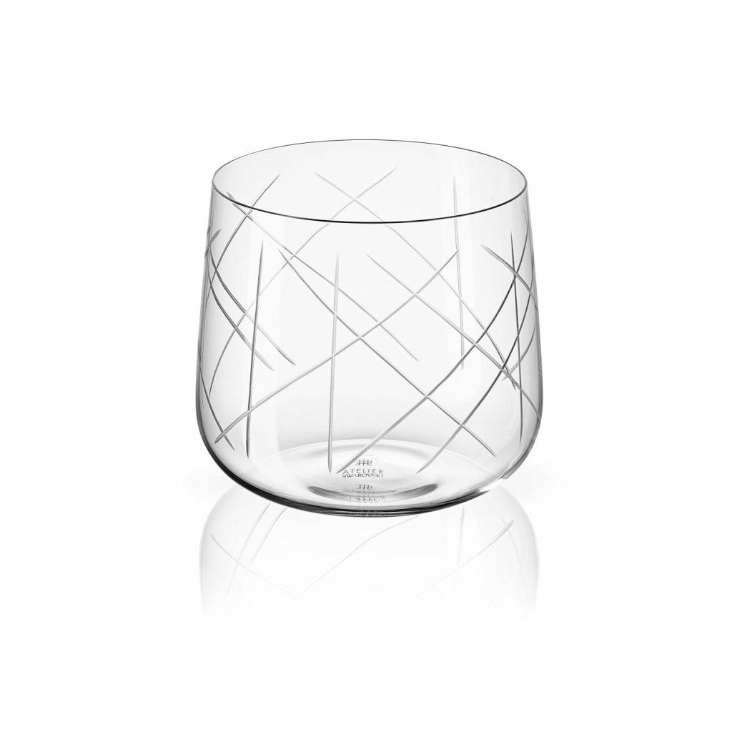 Nest Tumbler Set of Two –  Clear by Atelier Swarovski