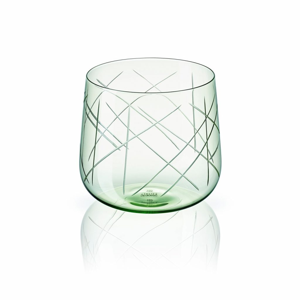 Nest Tumbler Set of Two –  Green by Atelier Swarovski