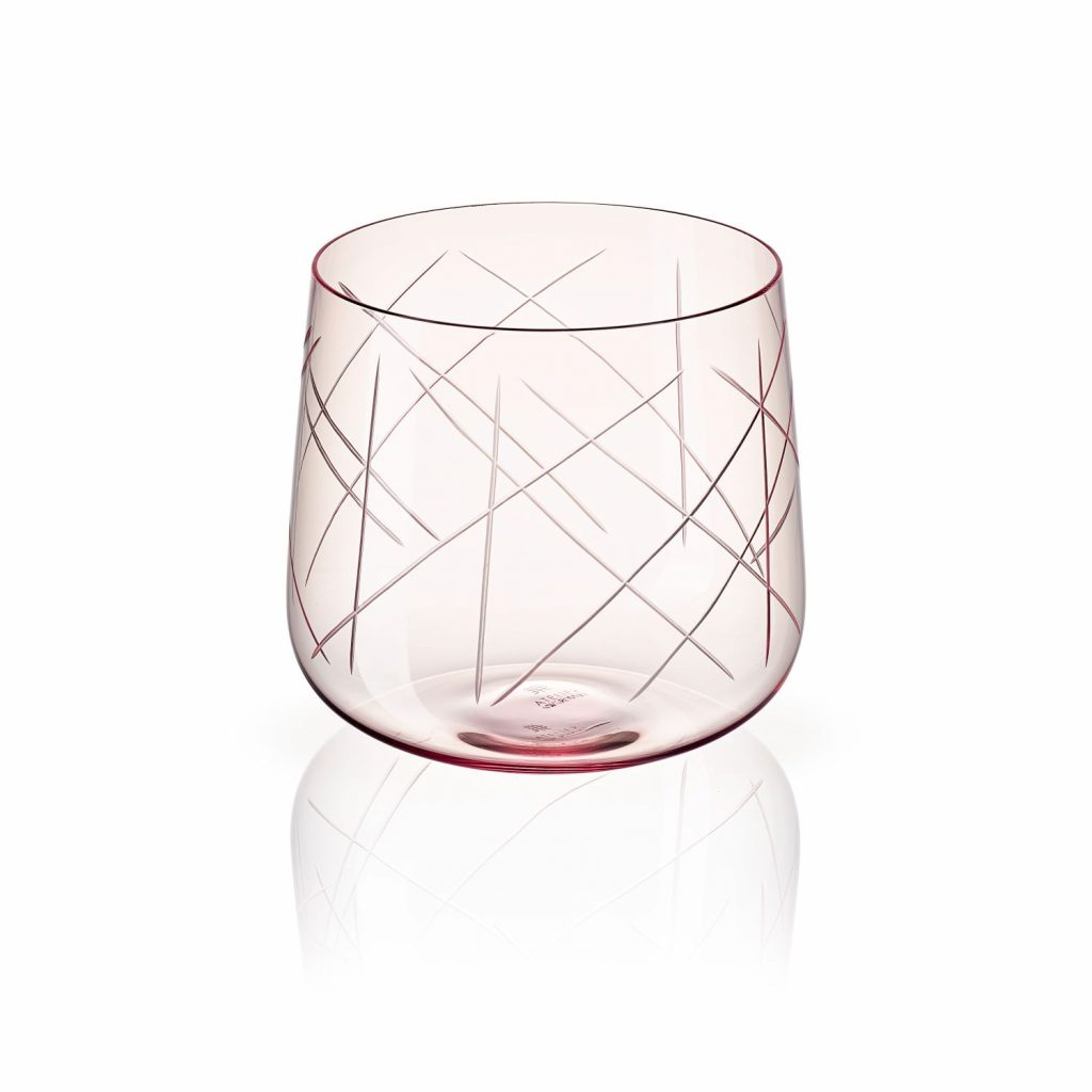 Nest Tumbler Set of Two – Pink by Atelier Swarovski