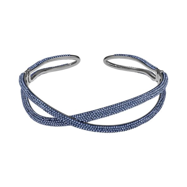 Tigris Choker – Sapphire Blue by Atelier Swarovski